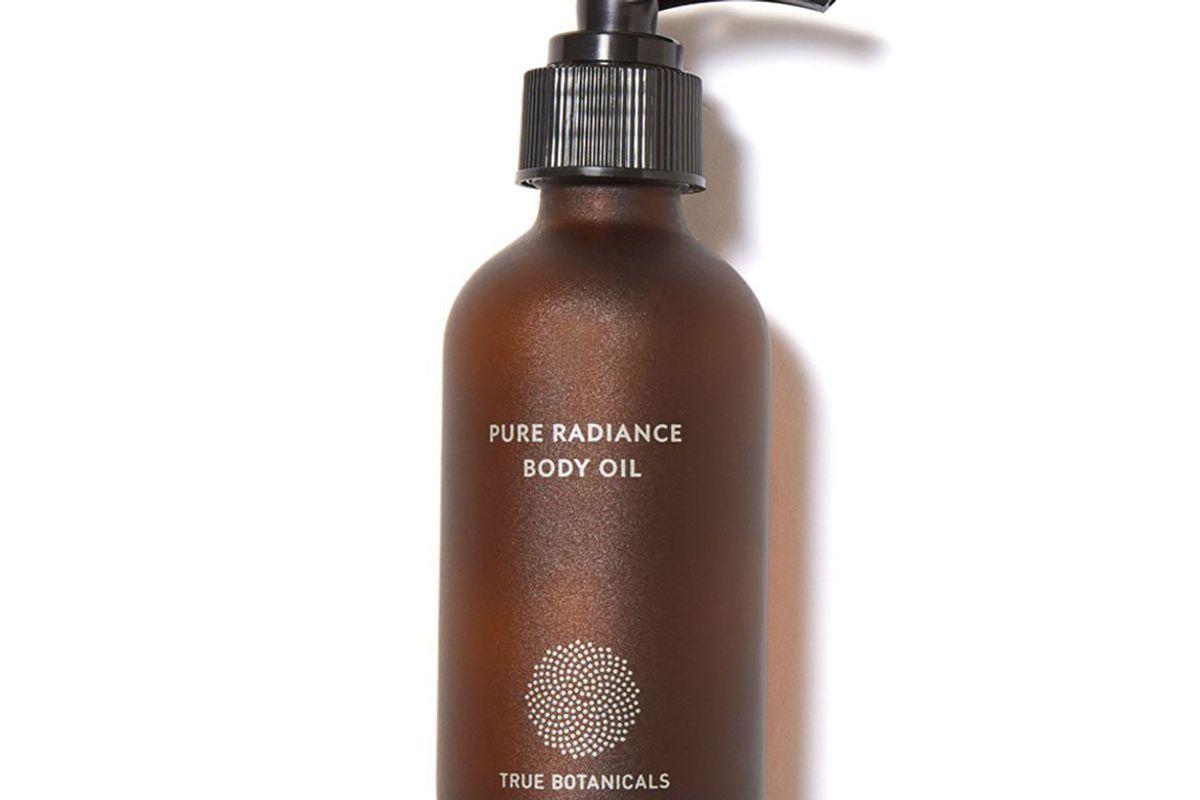 true bontanicals pure radiance body oil