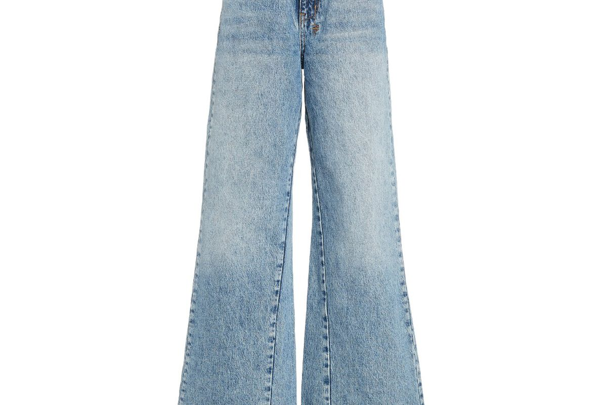 ksubi kicker rigid high rise wide leg jeans