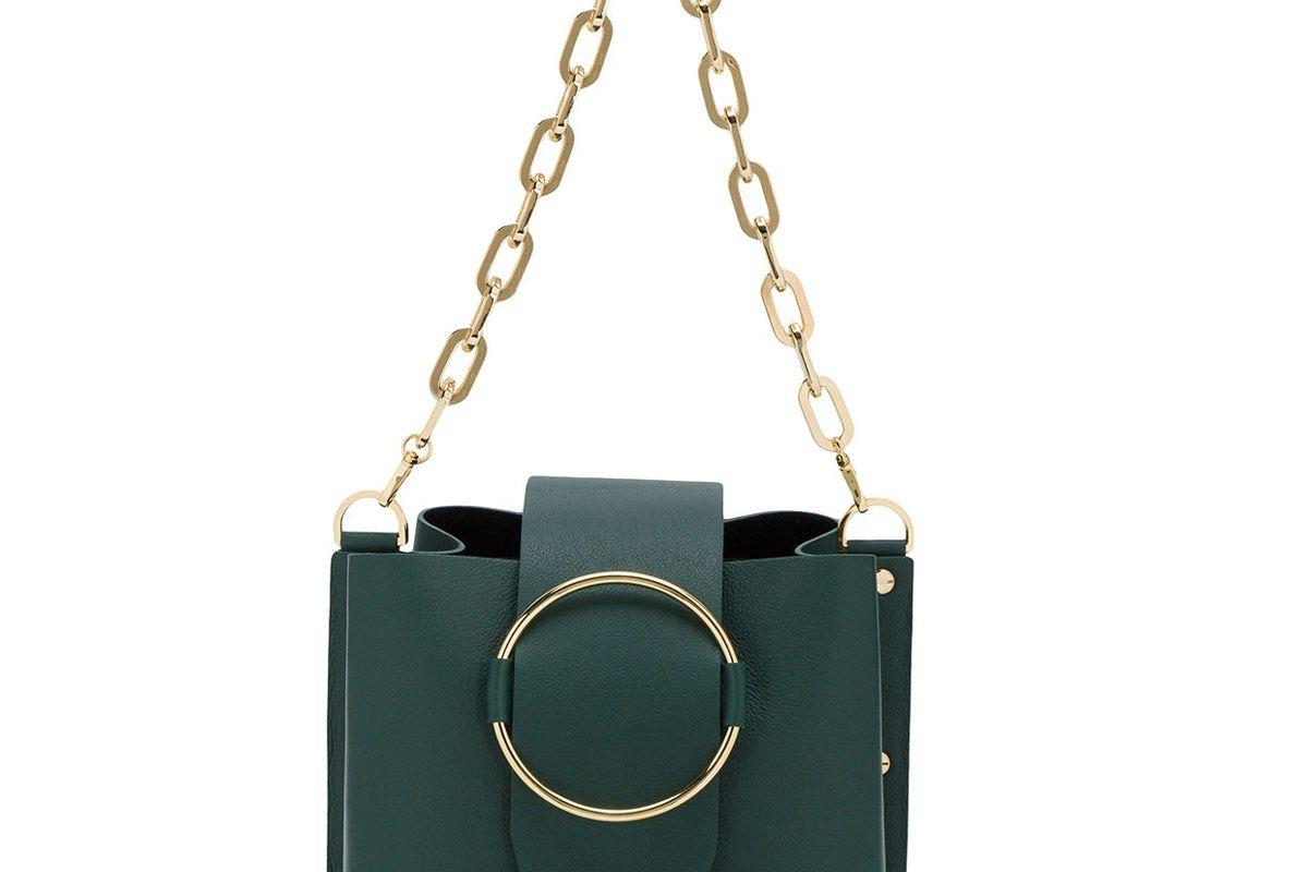 Green Small Delila Shoulder Bag