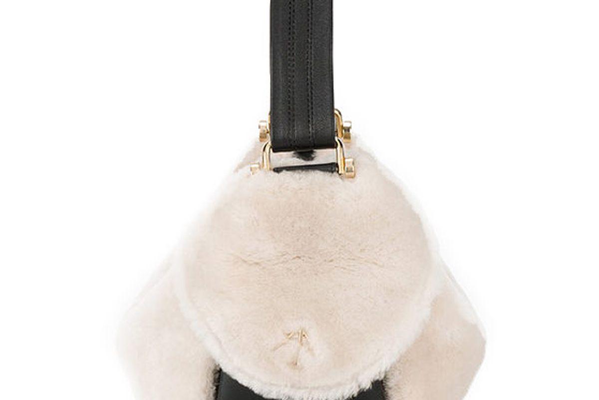 Fernweh Shearling Shoulder Bag