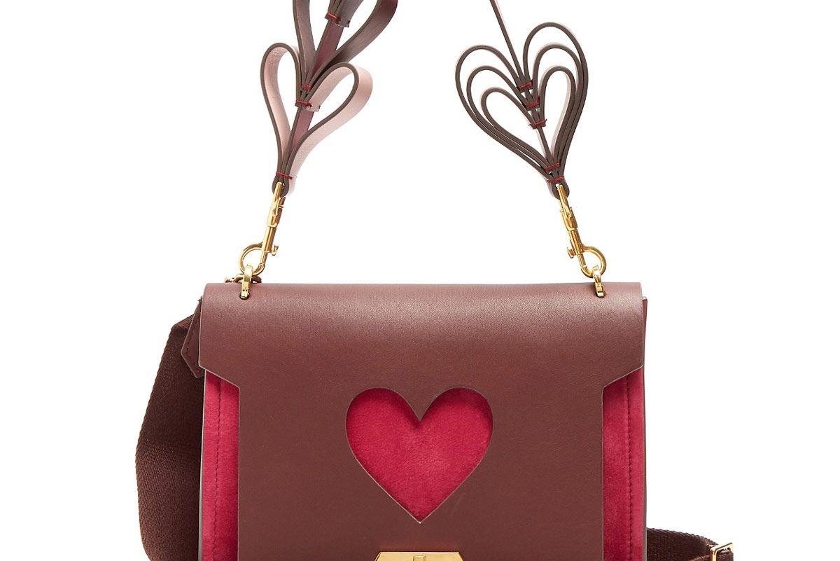 Bathurst Mini Suede-Leather Shoulder Bag