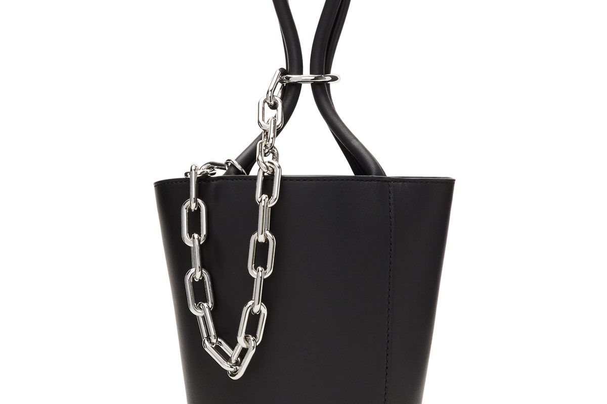 Black Mini Roxy Bucket Bag
