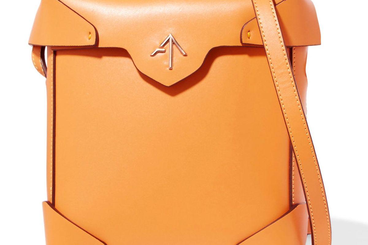 Pristine Mini Leather Shoulder Bag