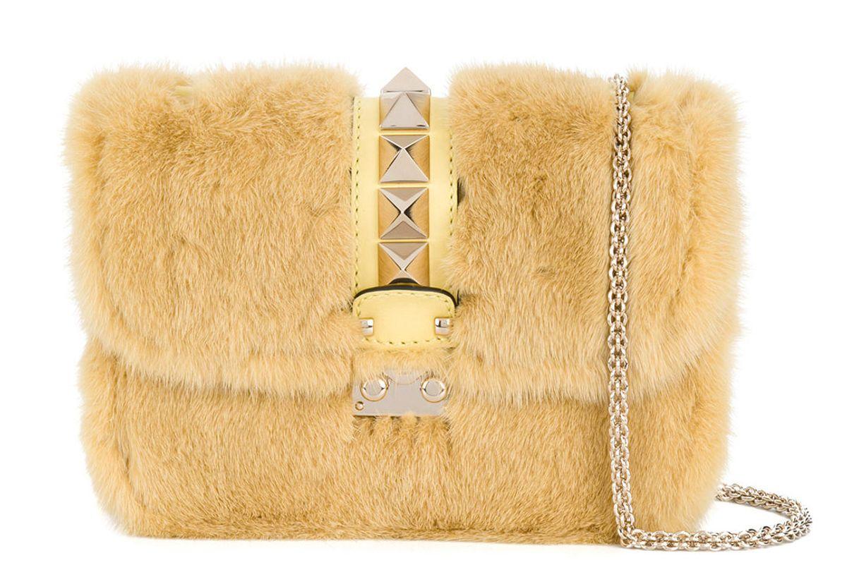 Garavani Glam Rock Shoulder Bag