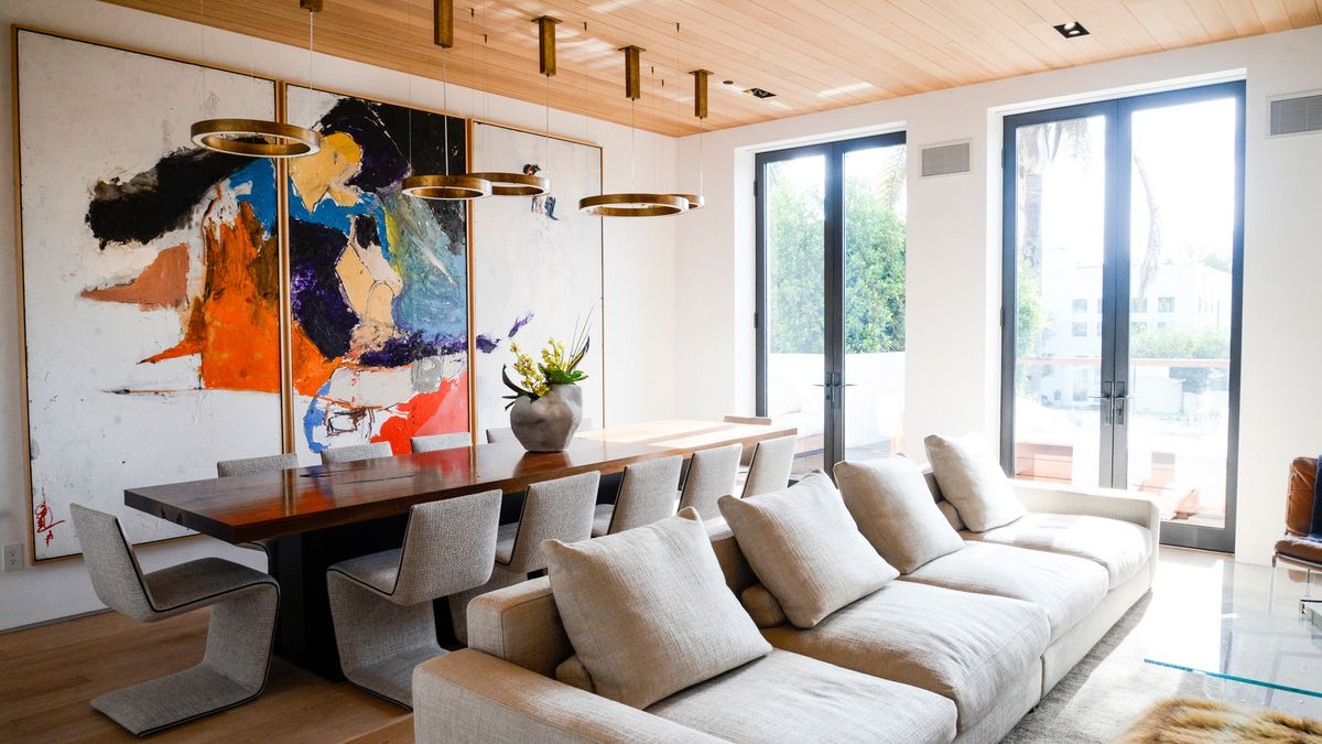 A Look Inside Hourglass Founder's Art-Filled Home