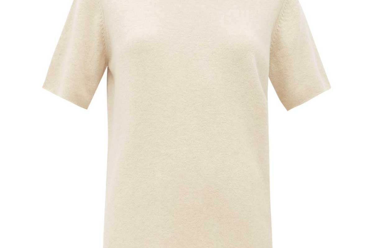 extreme cashmere no 64 stretch cashmere t shirt