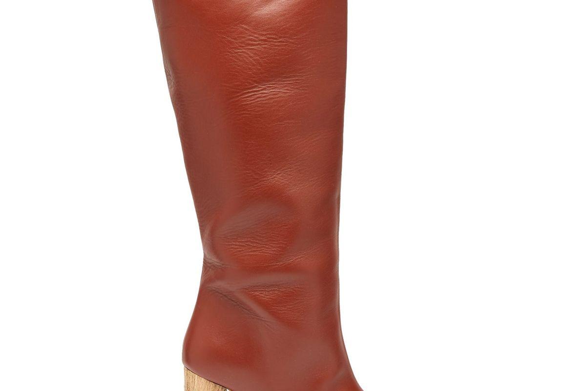 ssone rita knee high leather boots