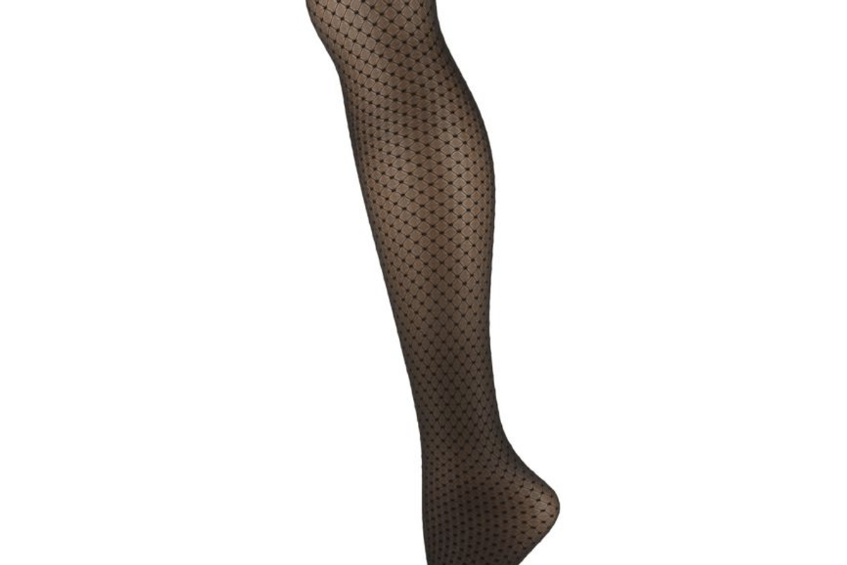 Control Top Dotted Tights