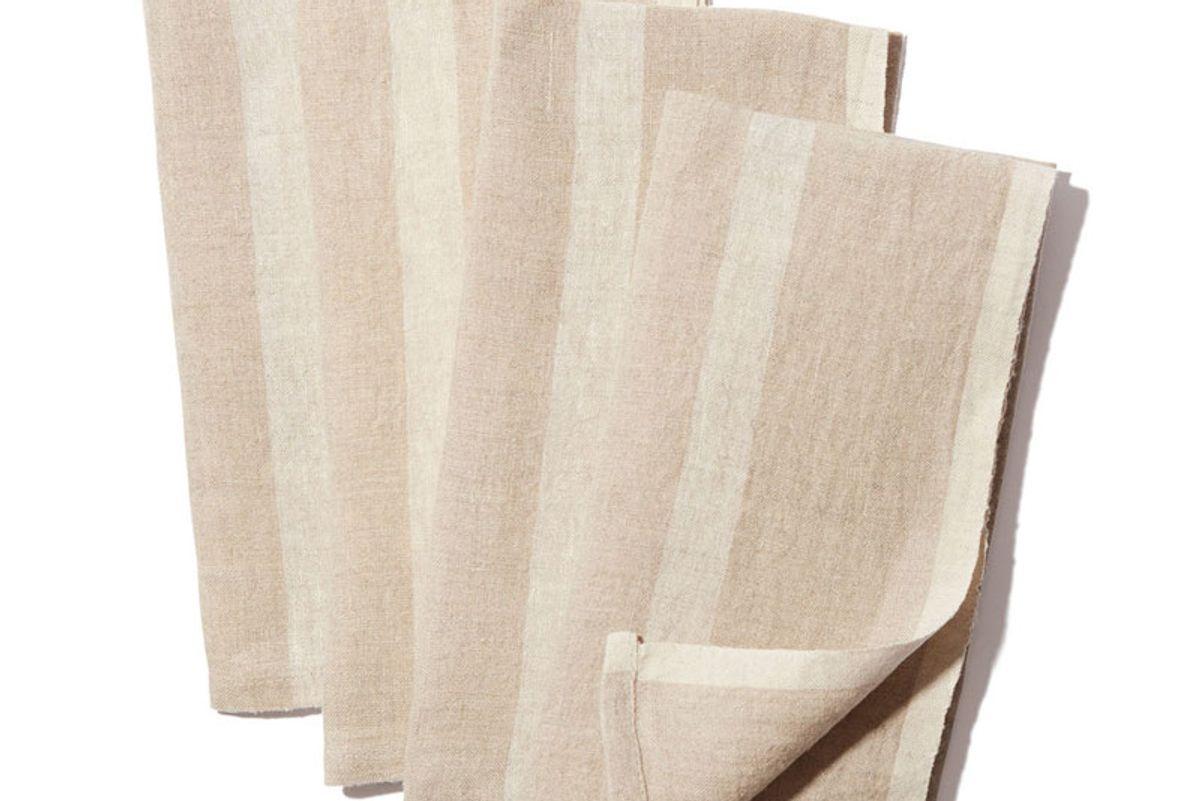 Laundered Linen Napkins Set