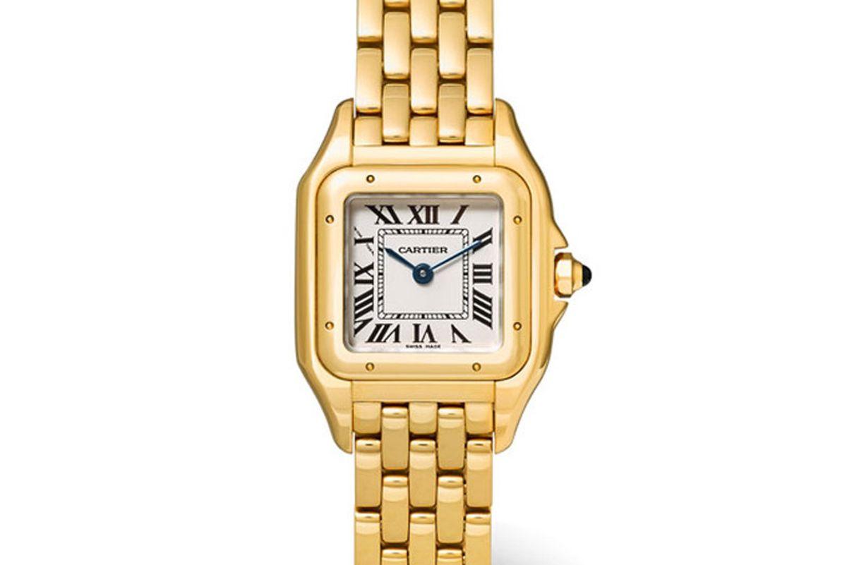Panthère de Cartier Small 18-Karat Gold Watch