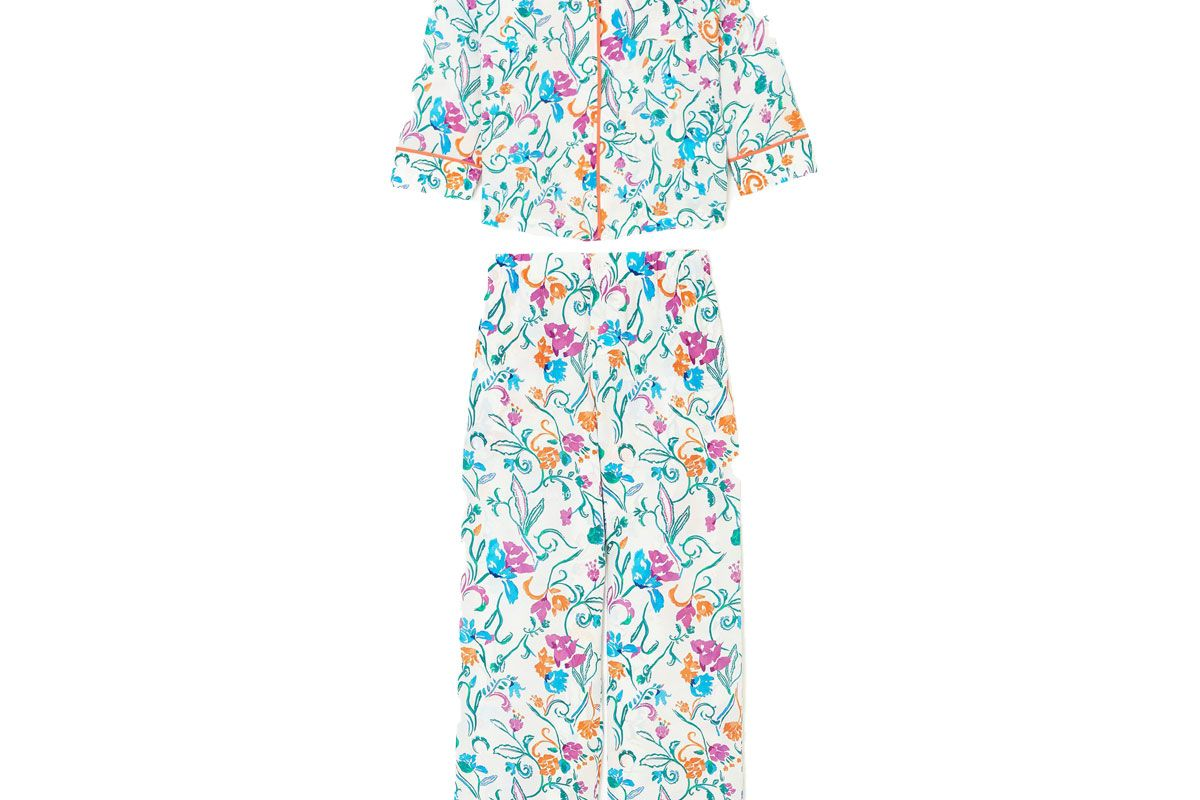 tanya taylor remixed restiitched pajama set