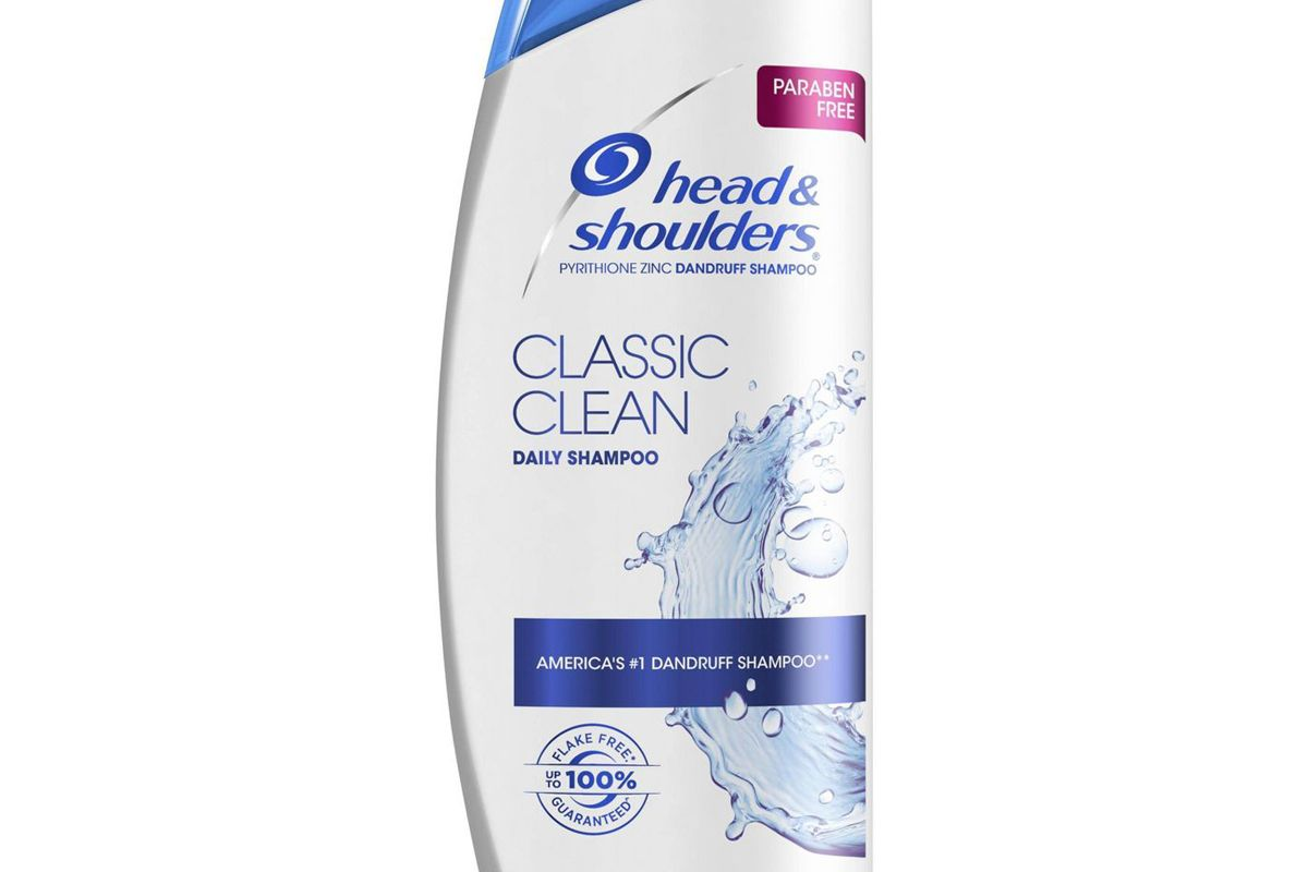 head and shoulders classic clean dandruff shampoo