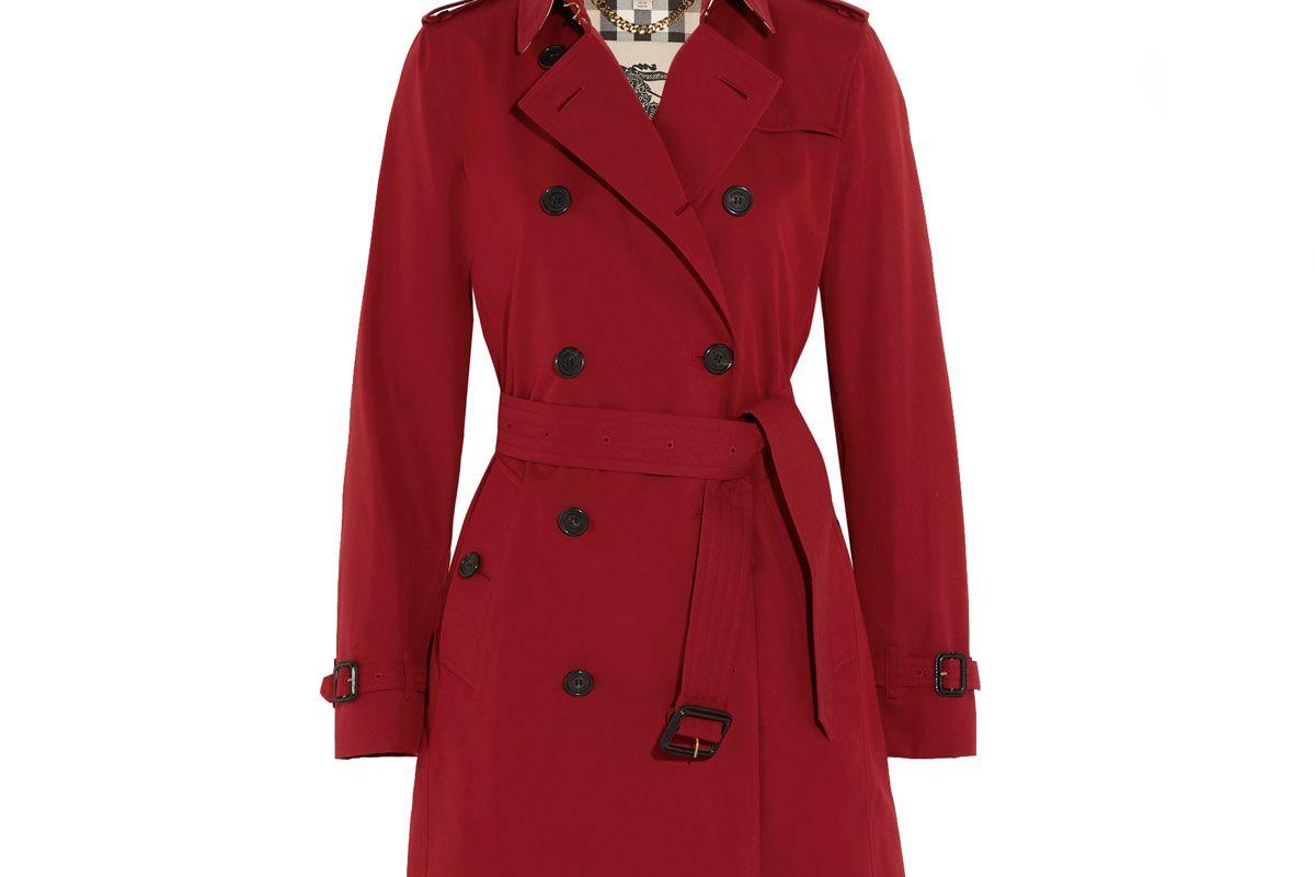 The Kensington Mid Cotton-Gabardine Trench Coat