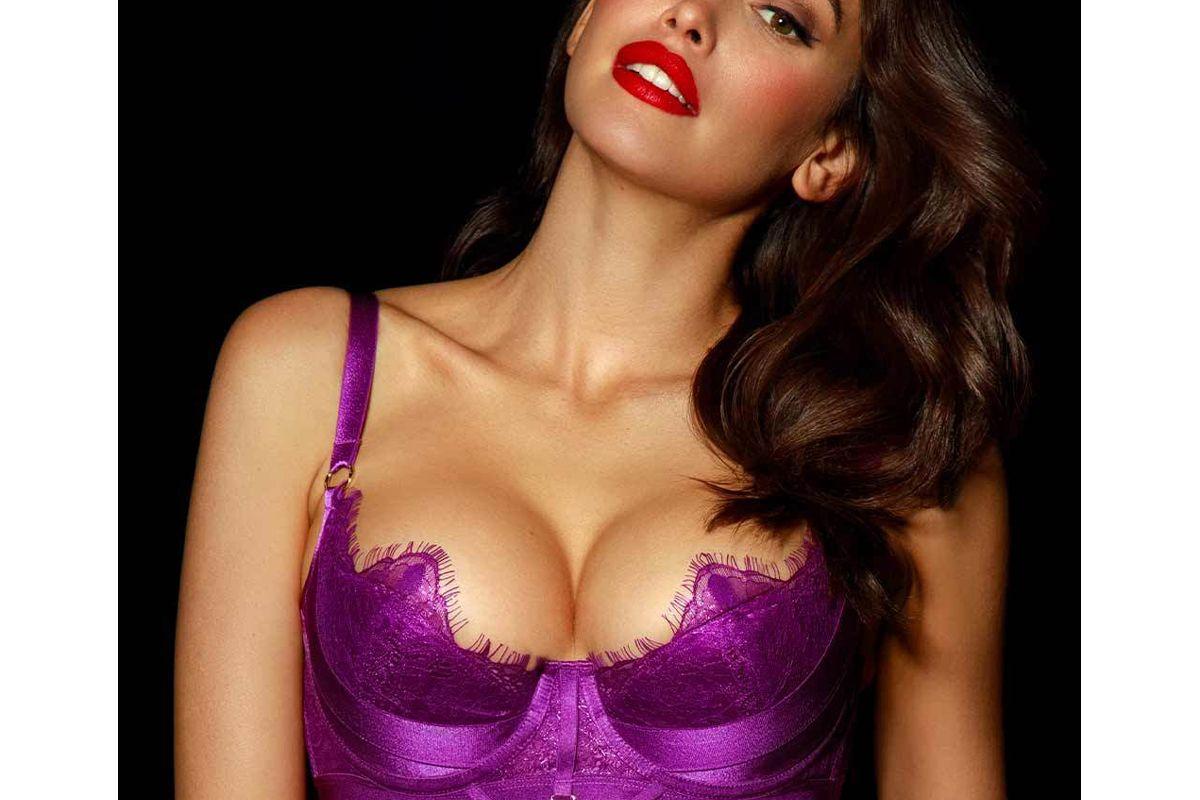 honey bridette belinda orchird push up bra