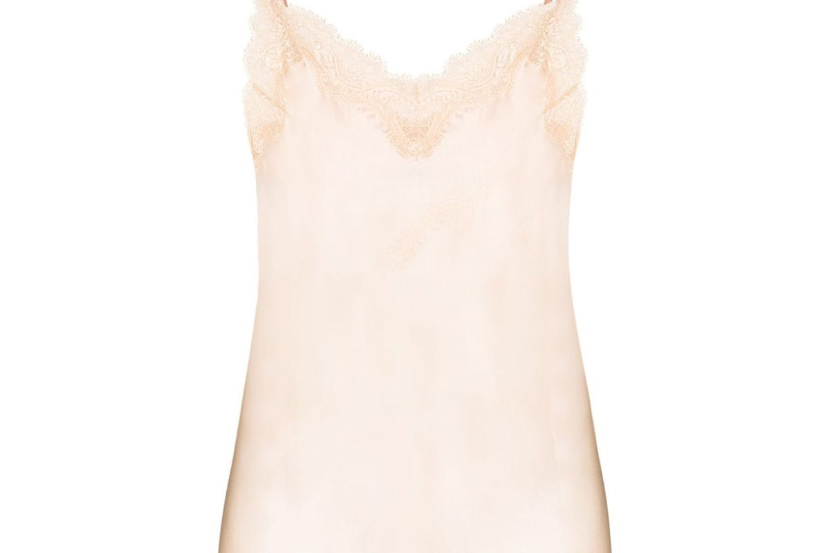 sainted sisters lace trimmed camisole