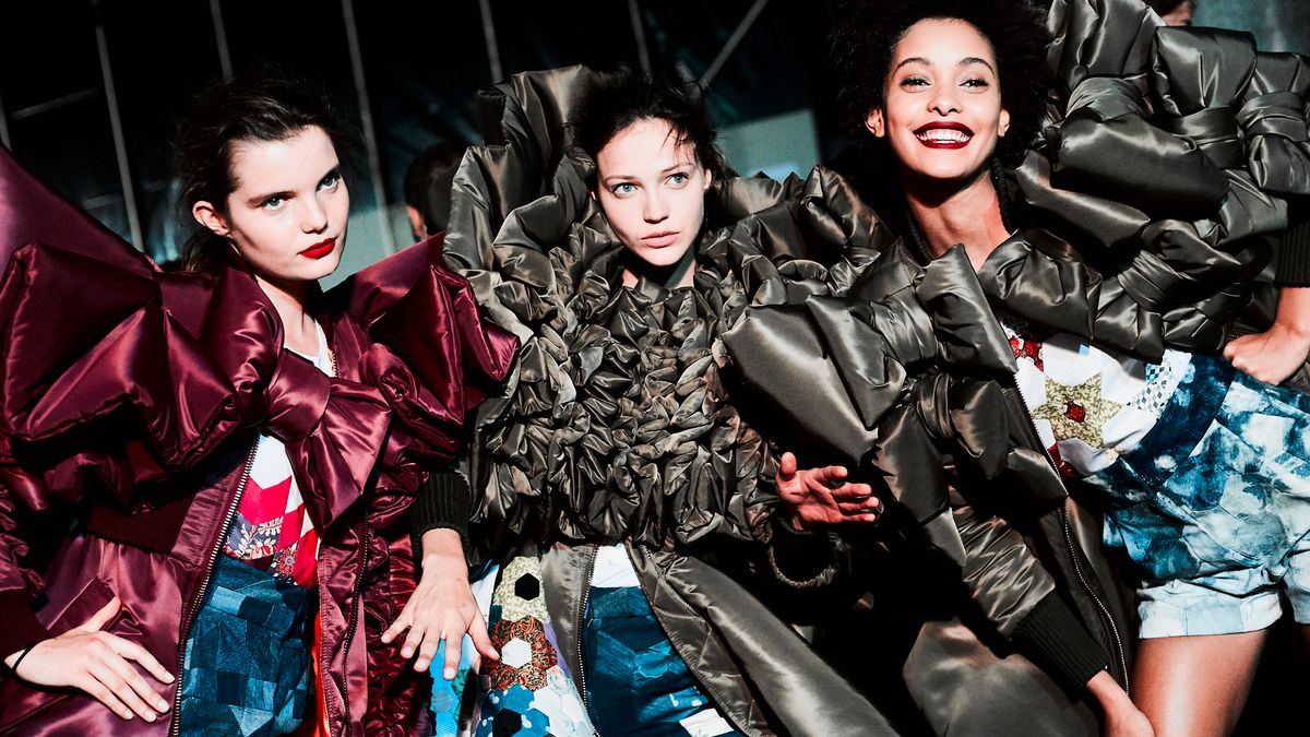 Go Behind the Scenes at Viktor & Rolf's Couture Show