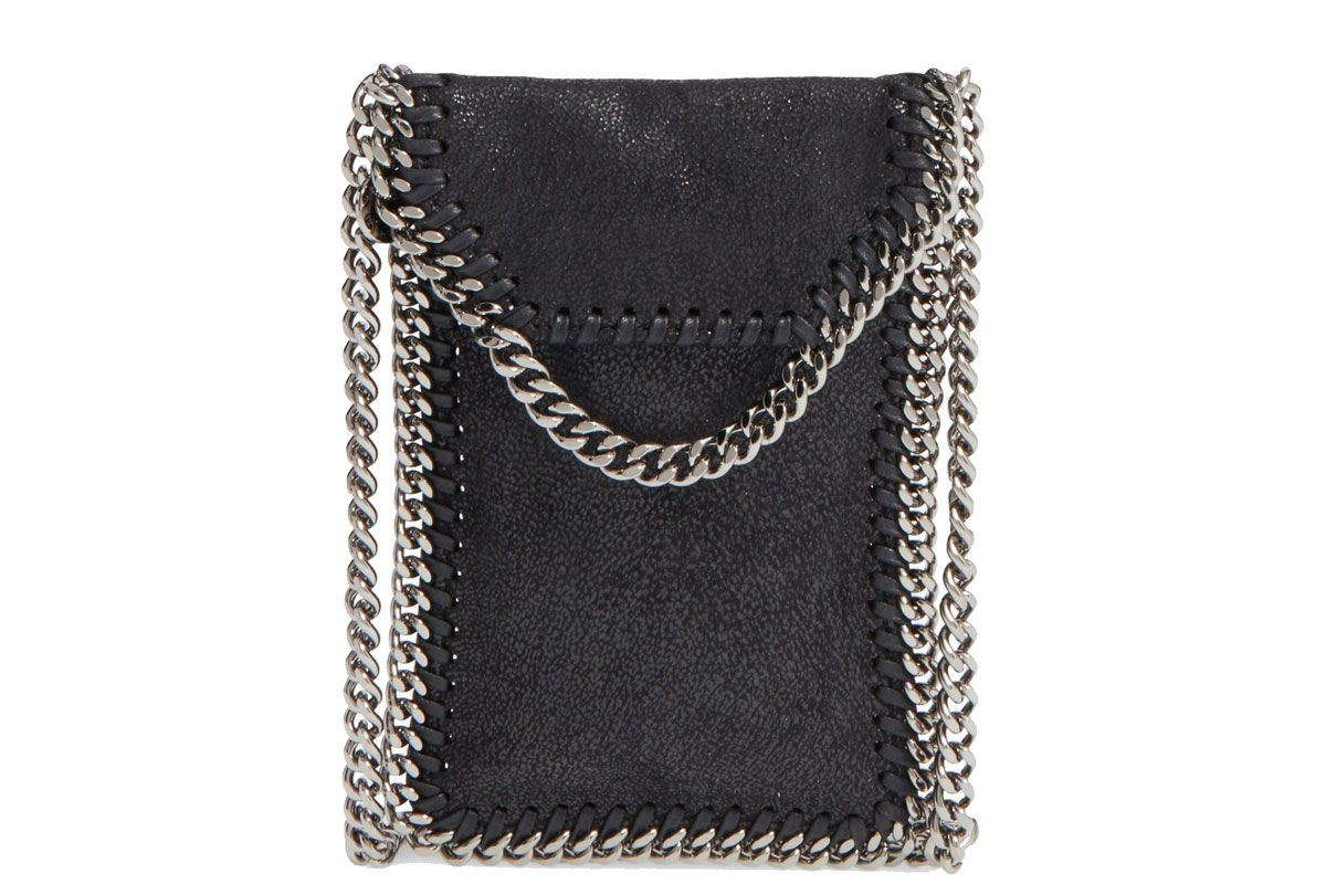 'Falabella' Faux Leather Crossbody Phone Pouch