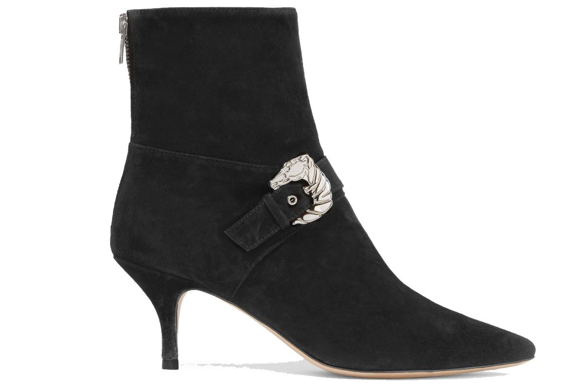 Saloon Suede Ankle Boots