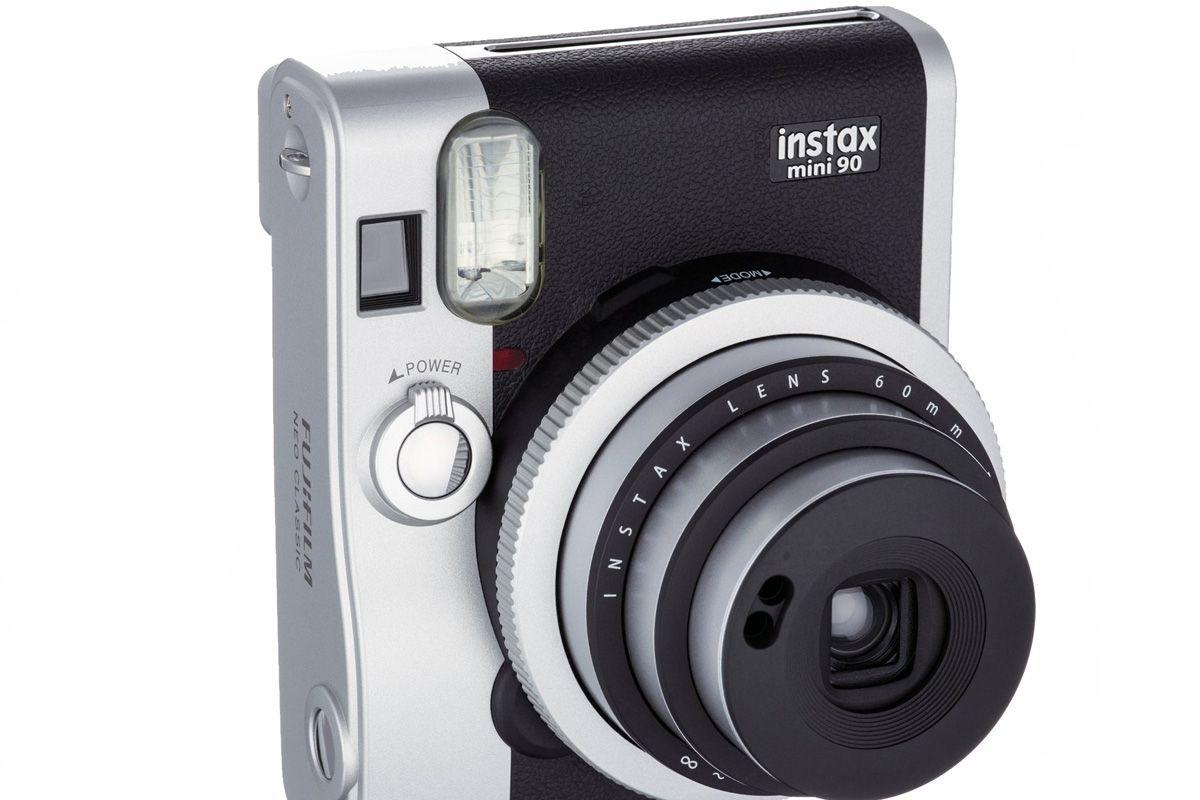 Instax Mini 90 Neo Classic Instant Camera with 10 Exposure Film, Black