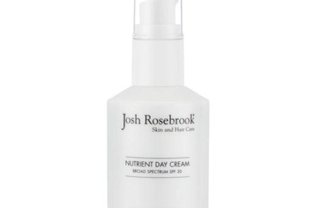 josh rosebrook nutrient day cream with spf