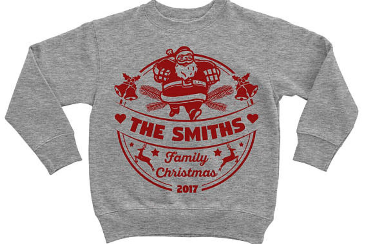 Family Christmas 2017 Personalized Custom Sweater