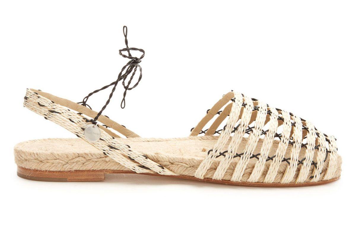 Calada Woven-Hemp and Leather Espadrilles