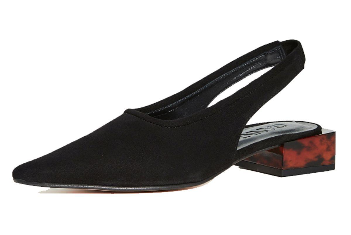 ganni low heel
