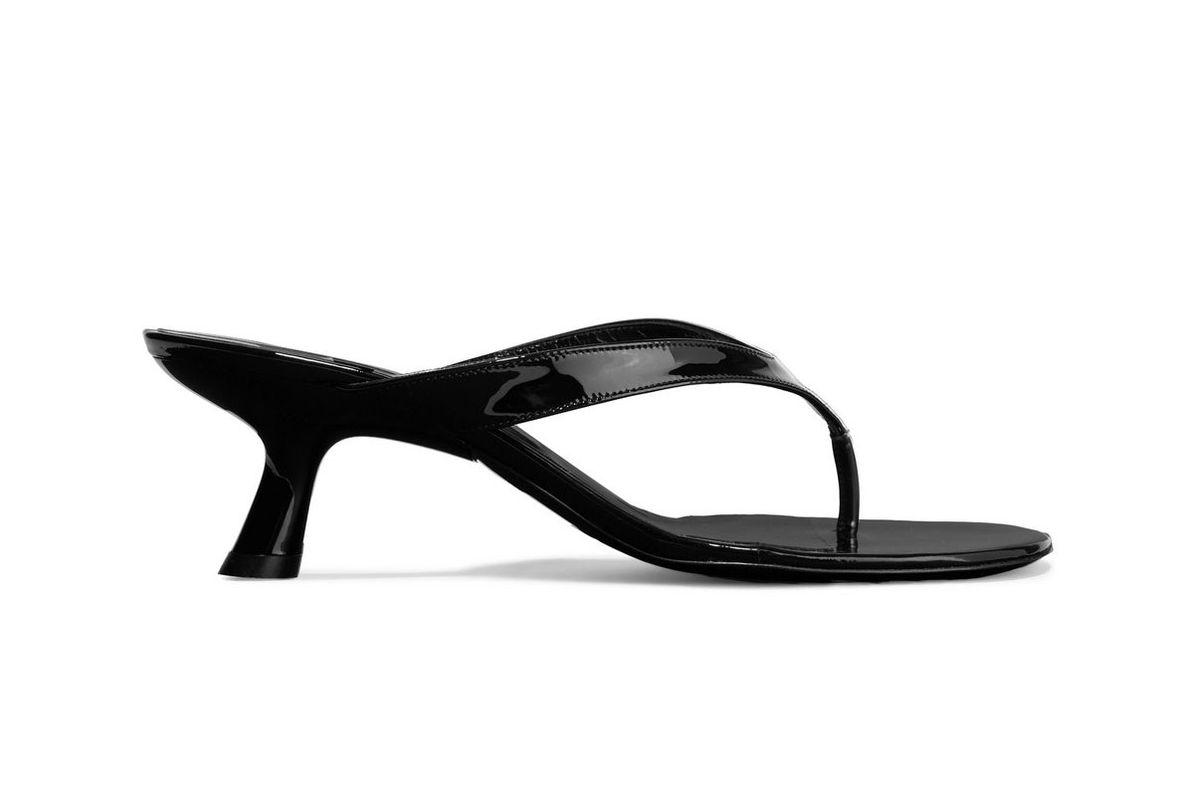 simon miller beep patent leather sandals