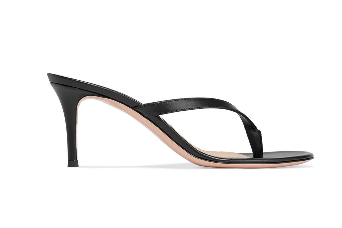 gianvito ross calypso 70 leather sandals