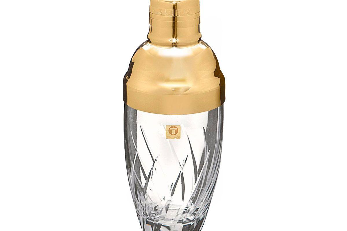 Gold Japanese Glass Shaker