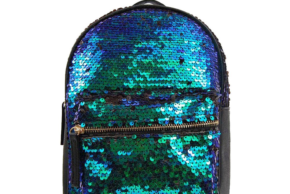 Sequin Mermaid Backpack