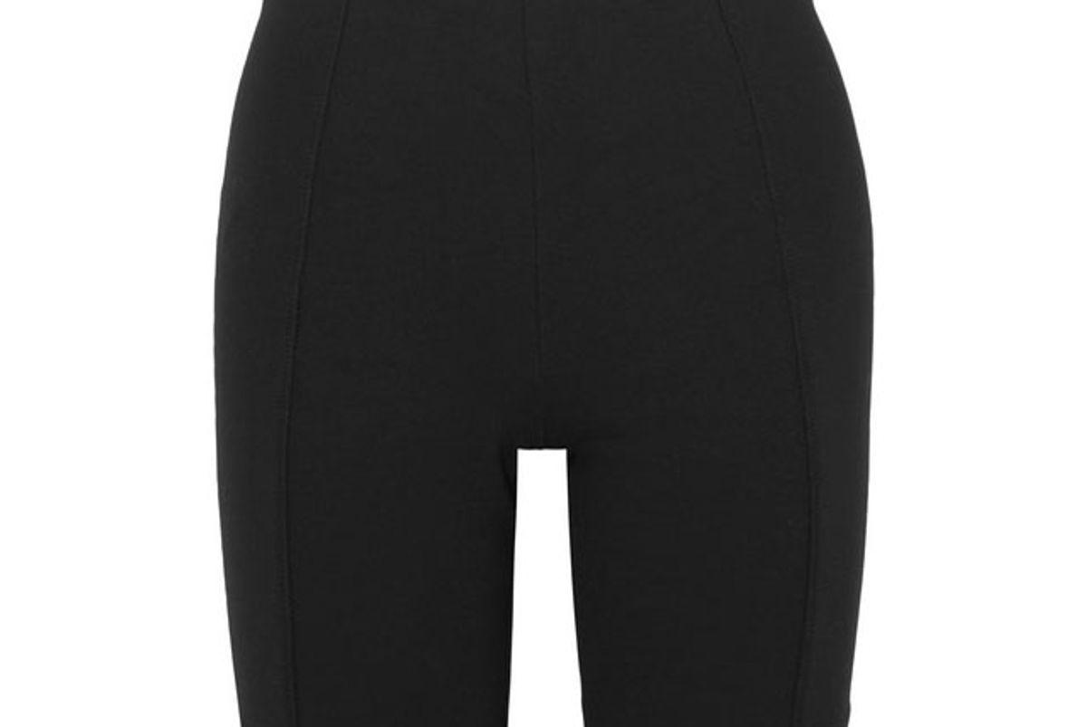 ninety percent stretch jersey shorts