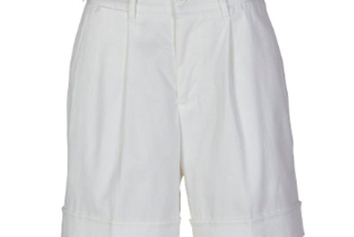 chino cotton knee length shorts