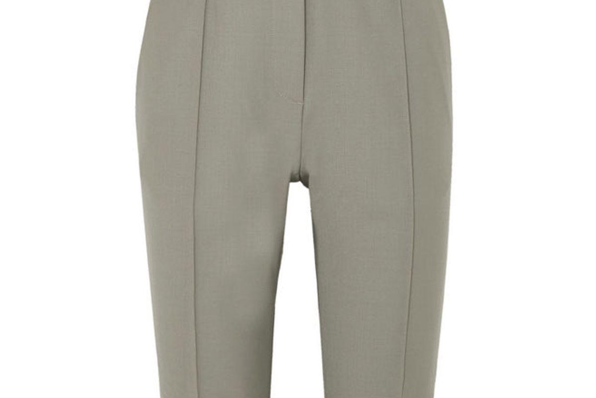 rokh twill shorts