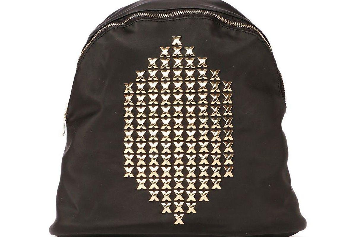 X Marks the Spot Embellished Backpack