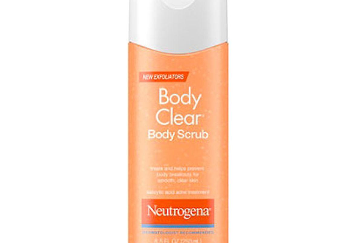 nuetrogena body scrub