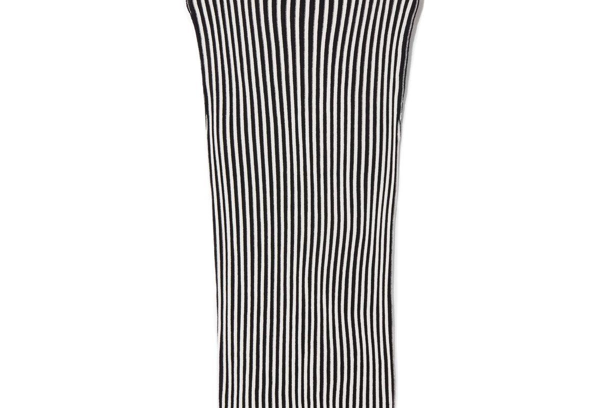 Striped Mock Sweater