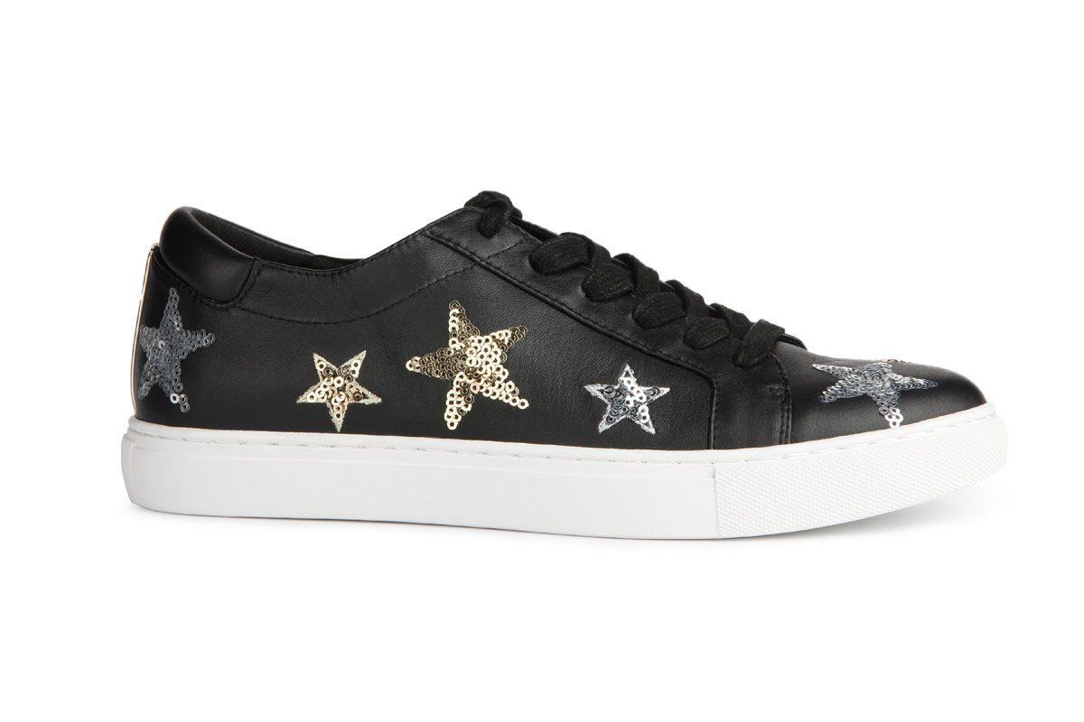 Women's Kam 11 Stars Leather Sneaker