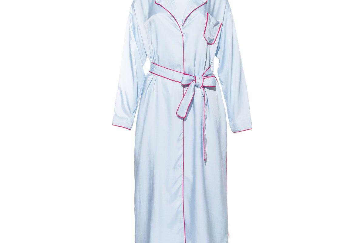 Pale Blue Robe Dress