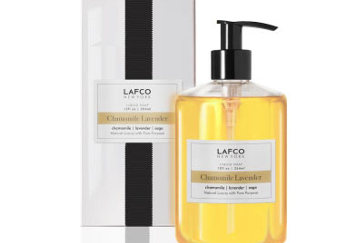 lafco chamomile lavender liquid soap