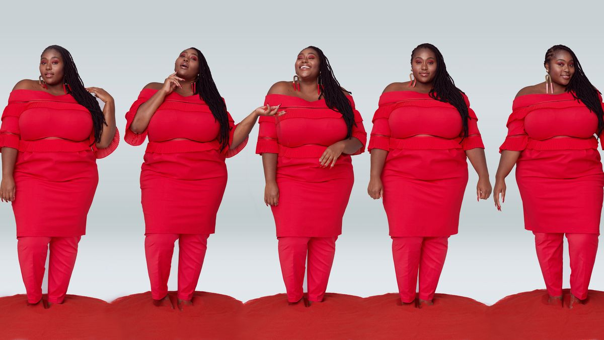 This Plus-Size Fashion Shoot Will Make You Forget All Those Times Shopping Brought You to Tears