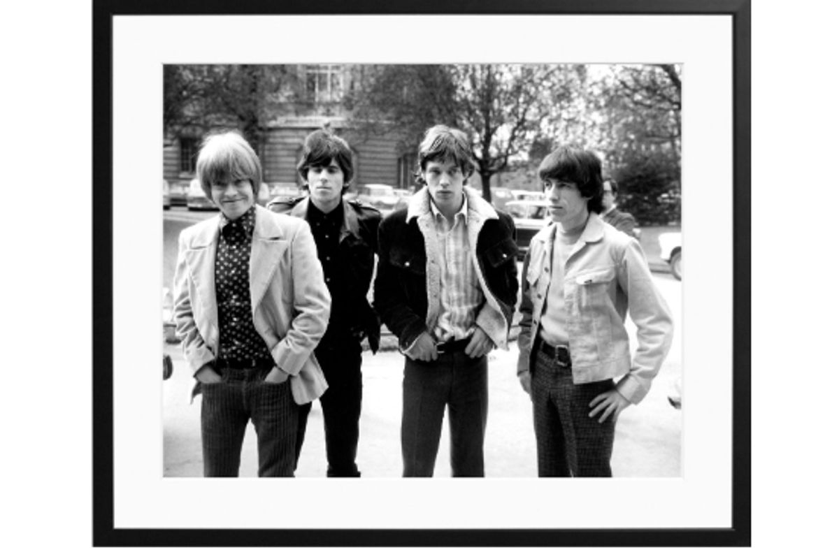 sonic editions rolling stones limited edition print