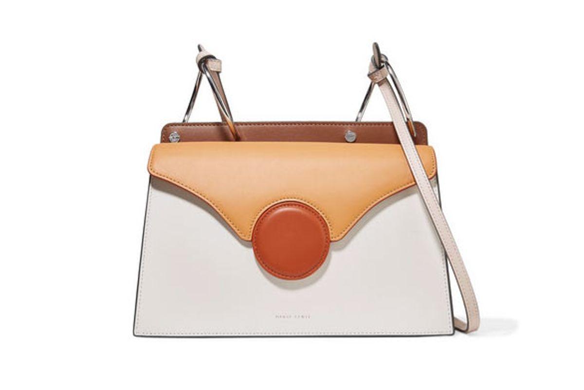 danse lente phoebe color-block leather shoulder bag
