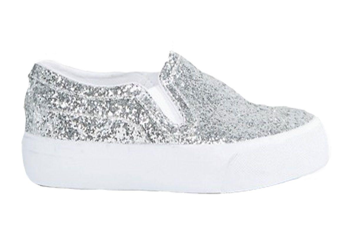 Dulcie Wide Fit Slip On Sneakers