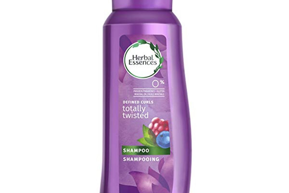 herbal essences totally twisted curls and waves shampoo