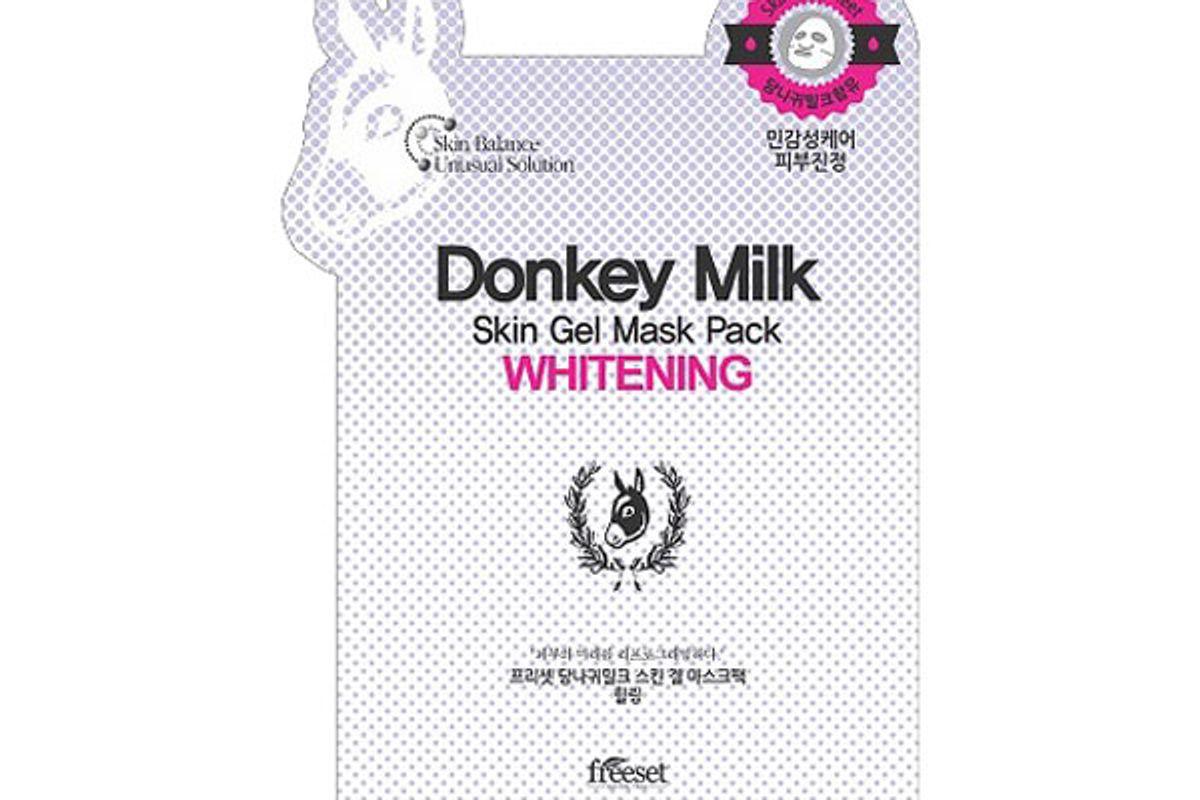 Donkey Milk Skin Gel Mask Pack Whitening