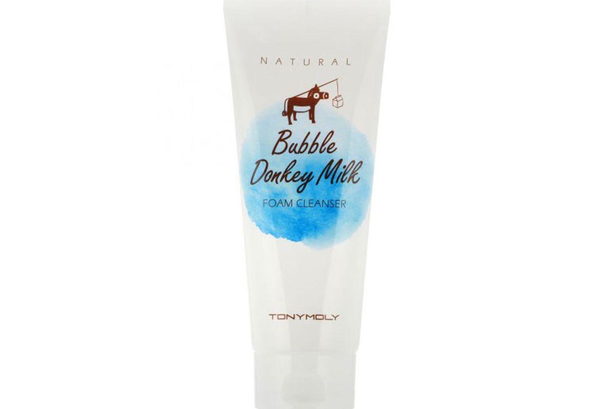 Natural Bubble Donkey Milk Foam Cleanser