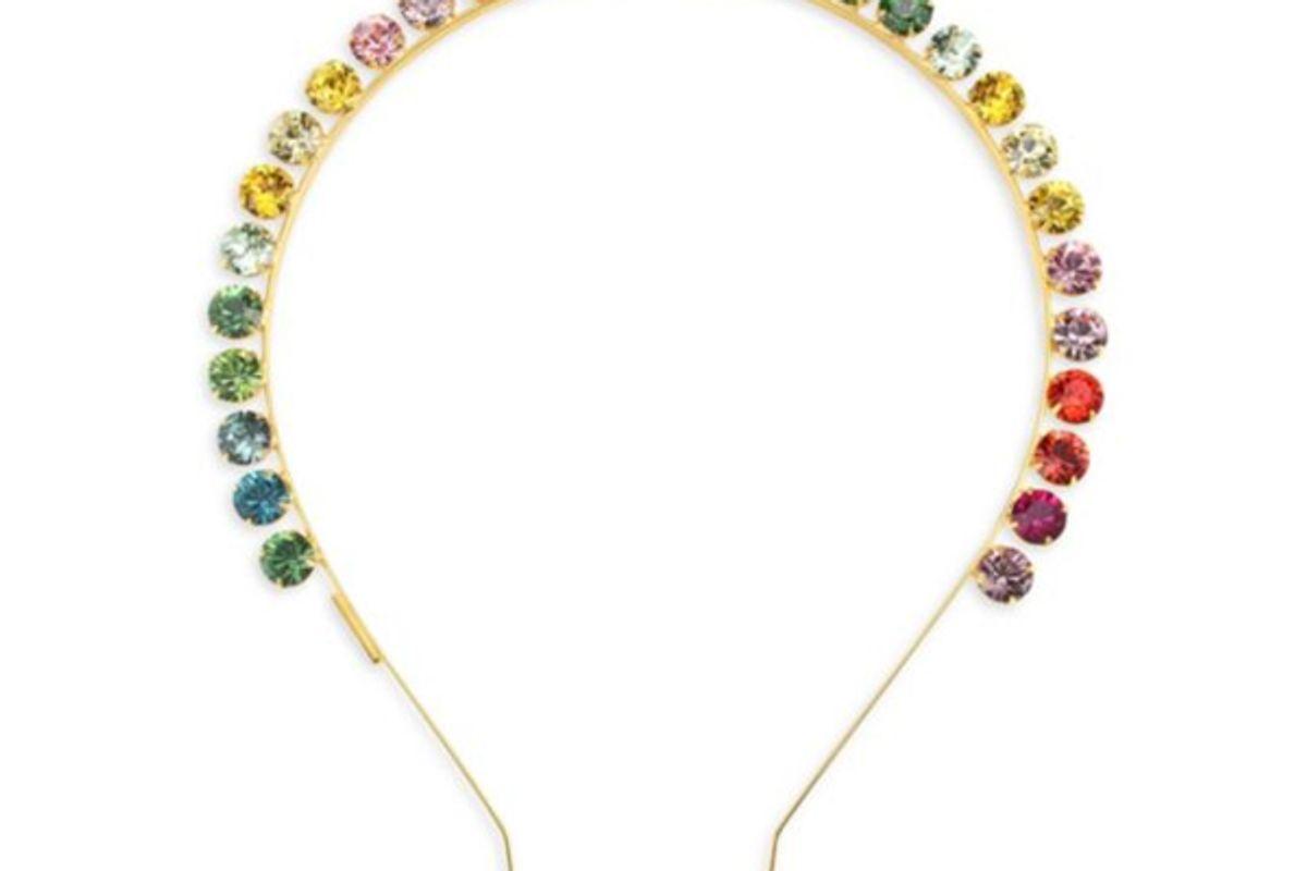 lelet spectrum swarovski crystal headband