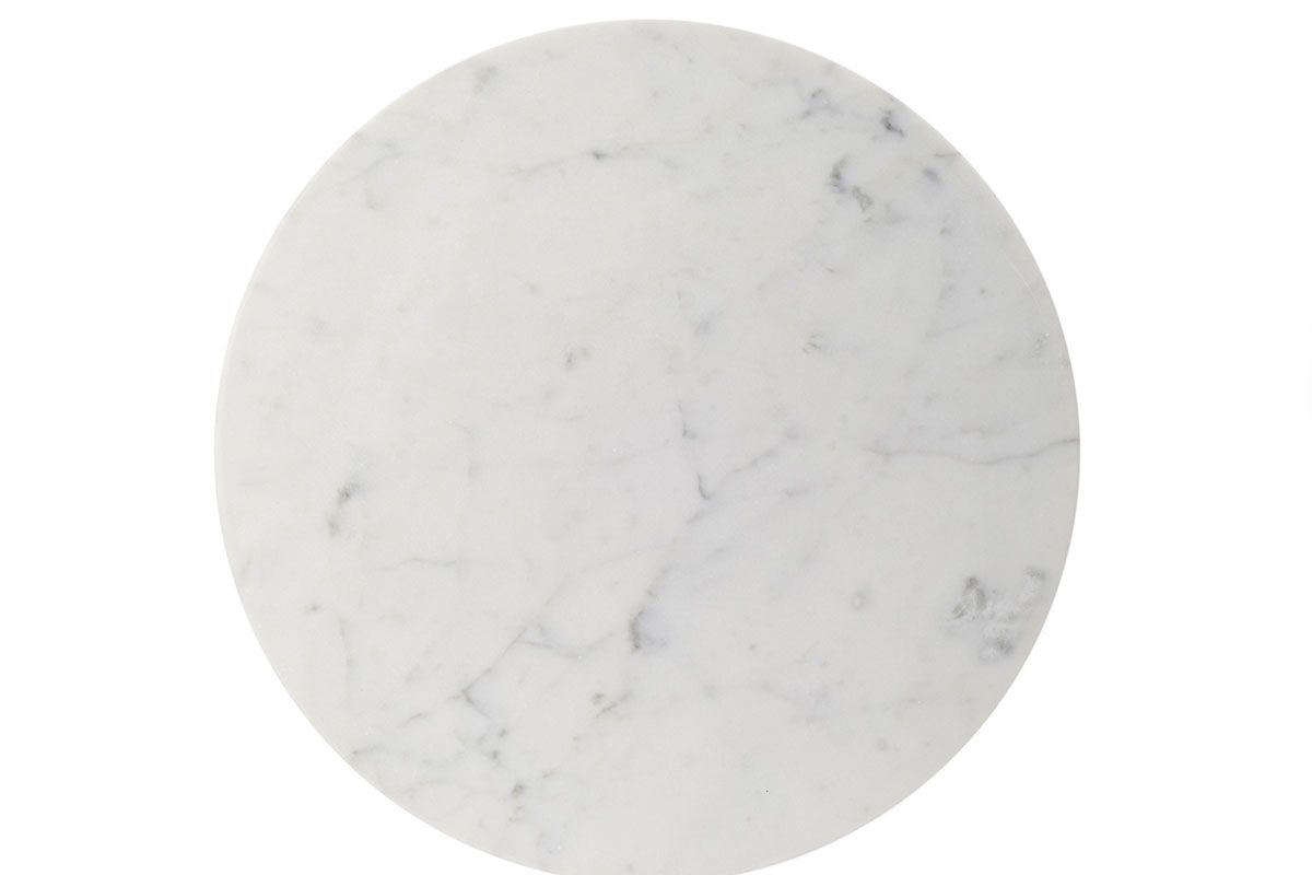 Round Marble Cheese Plate
