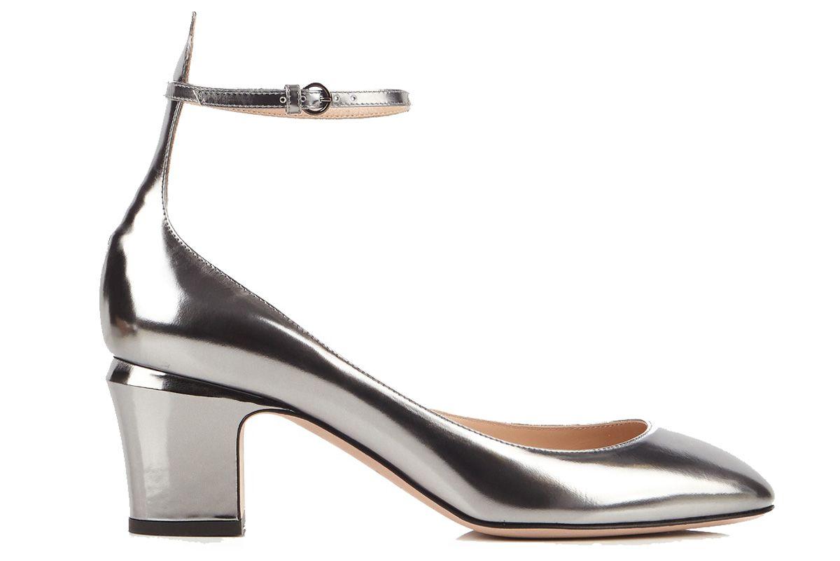 Tango Block-Heel leather Pumps